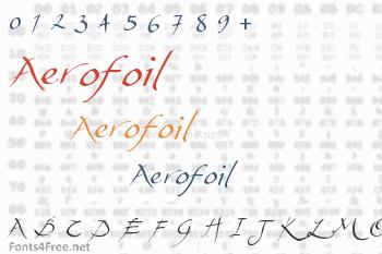 Aerofoil Font