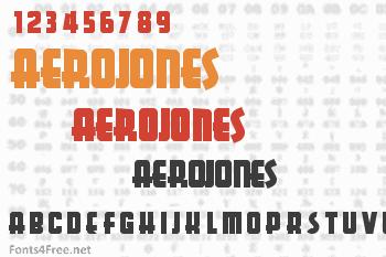 Aerojones Font