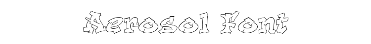 Aerosol Font Preview