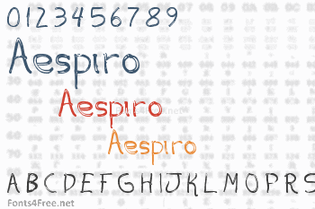 Aespiro Font