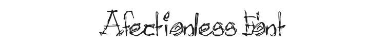 Afectionless Font Preview