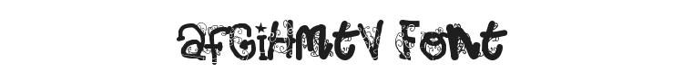 afGiHmtV Font