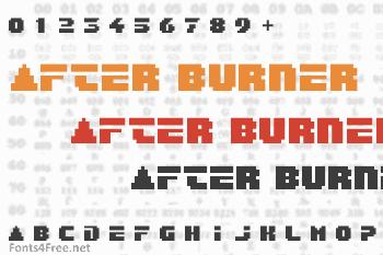 After Burner Font