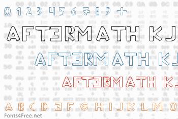 Aftermath KJ Font