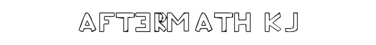 Aftermath KJ Font Preview
