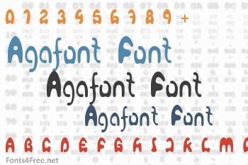 Agafont Font