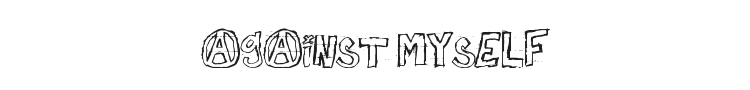 Against Myself Font