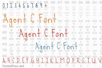 Agent C Font
