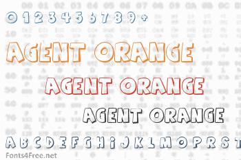 Agent Orange Font