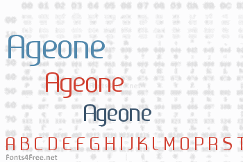 Ageone Font