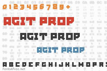 Agit Prop Font