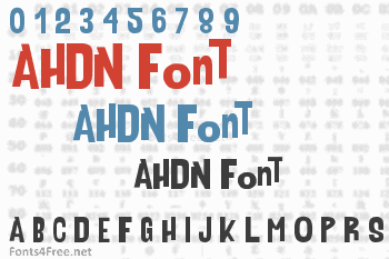 AHDN Font