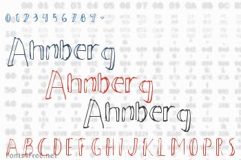 Ahnberg Font