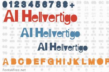 AI Hellvertigo Font
