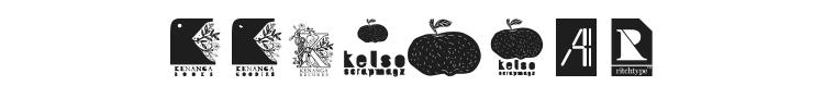 AI Kelso D Font
