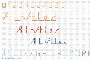 AI Liftled Font