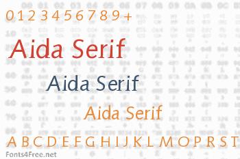 Aida Serif Font