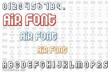 Air Font