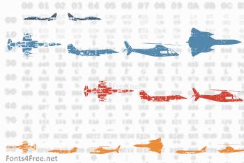 Air Force Font