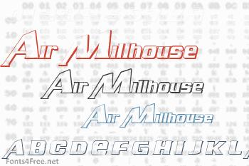 Air Millhouse Font