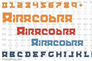 Airacobra Font