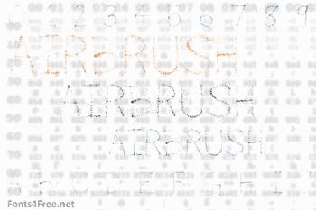 Airbrush Font