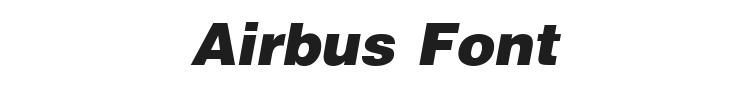 Airbus Font