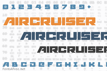 Aircruiser Font