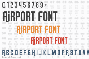 Airport Font