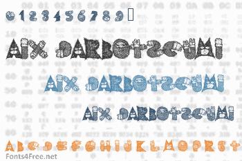 AIx Darbotzcumi Font