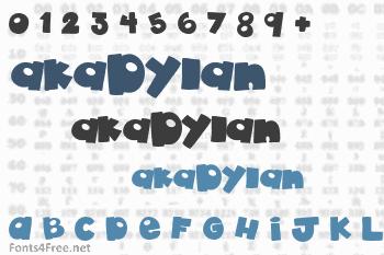 akaDylan Font