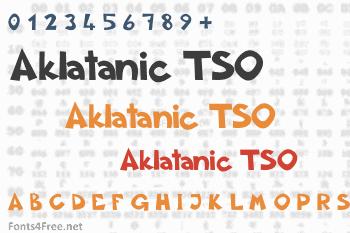 Aklatanic TSO Font