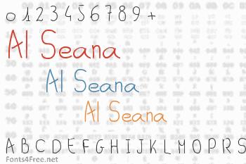 Al Seana Font