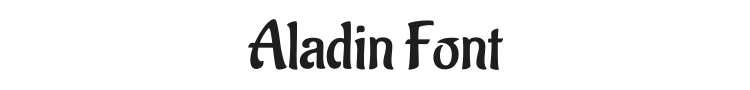 Aladin Font