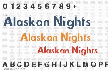 Alaskan Nights Font