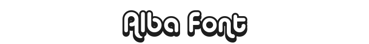 Alba Font Preview