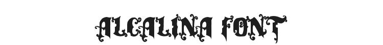 Alcalina Font Preview