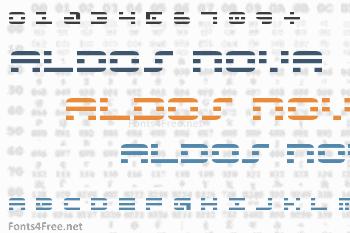 Aldos Nova Font