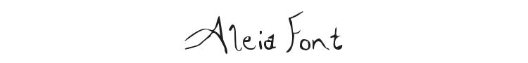 Aleia Font Preview
