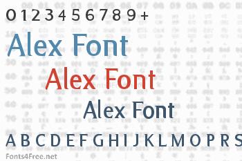 Alex Font