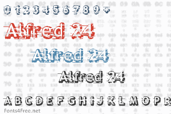 Alfred 24 Font