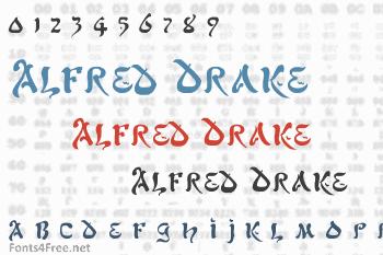 Alfred Drake Font