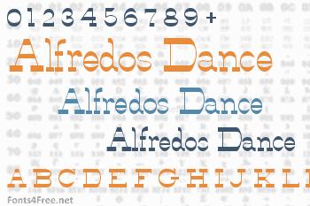 Alfredos Dance Font