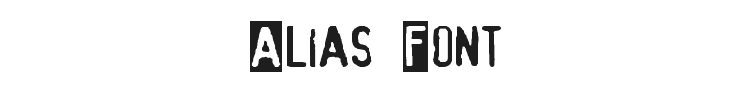 Alias Font