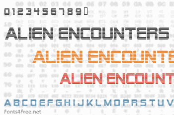 Alien Encounters Font