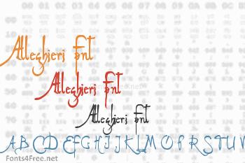 Alleghieri Font