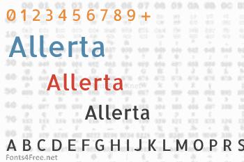 Allerta Font