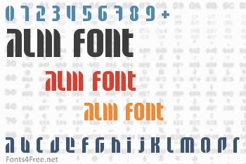 Alm Font