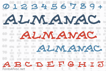 Almanac of the Apprentice Font