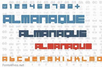 Almanaque Font